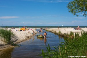 Karwia - ujście Czarnej Wody